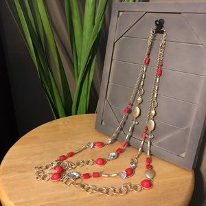 Layering necklaces (2)